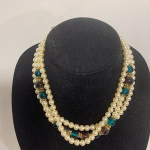 1928 Costume Pearl Necklace